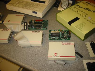 Microchip & MQP Programmers & Development Tools
