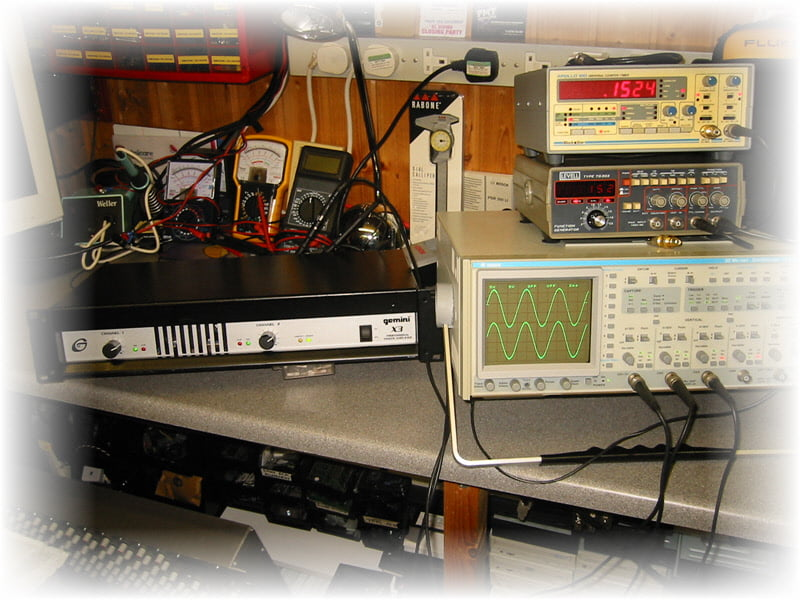 Gemini Power Amplifier, New Output Transistors Replaced And Now Fully Working Again