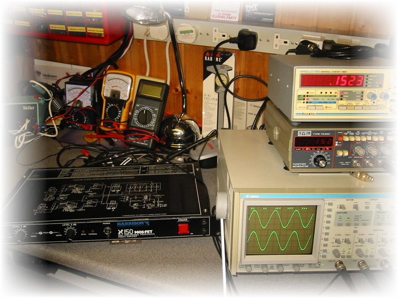 1U Power Amplifier Requiring New Output MOSFETS And Drivers, Fully Repaired & Working Again