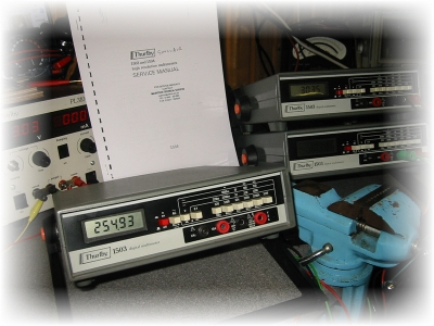 Electronic Multimeters In For Repair And Full Calibration