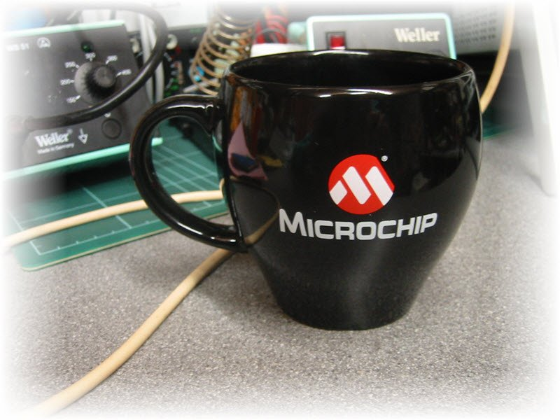 My Microchip Coffee Mug ... Coffee Time!